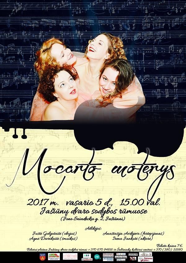 Mocarto moterys