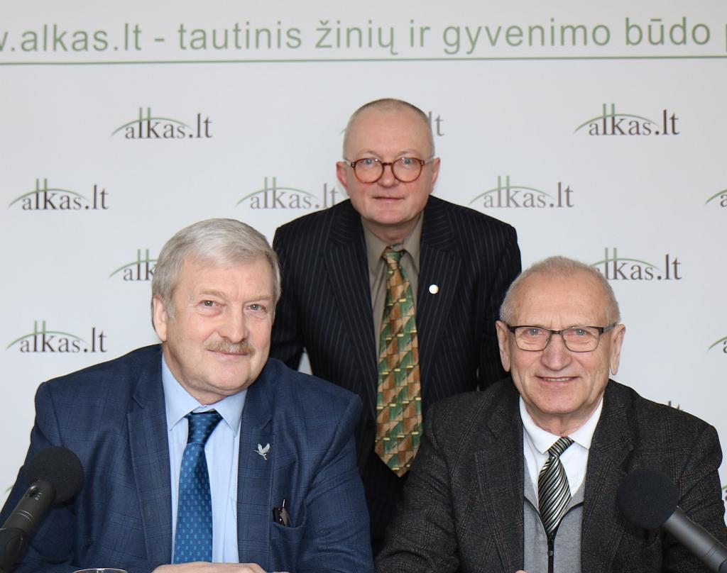 Bronis Ropė Audrys Antanaitis ir Juozas Zykus | alkas.lt nuotr.