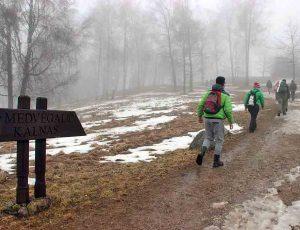 Pilėnų žygdarbis paminėtas pėsčiųjų žygiu | Varnių regioninio parko direkcijos nuotr.