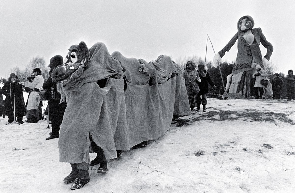 Uzgavenes4Morė ir persirengėliai | Alkas.lt, V. Daraškevičiaus nuotr.