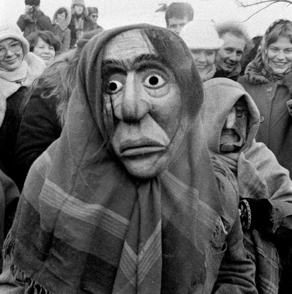 Užgavėnių kaukė | Alkas.lt, V. Daraškevičiaus nuotr.