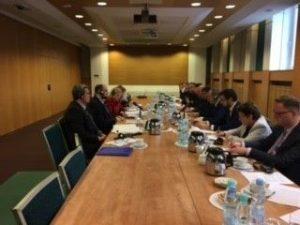 Zemes ukio ministerijos vadovybe susitikime Lenkijoje_zum.lt