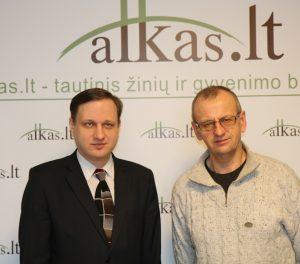 Tomas Baranauskas ir Gintautas Zabiela | Alkas.lt nuotr.