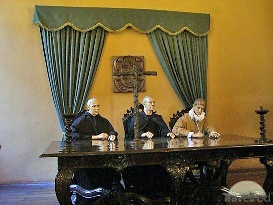 Inkvizitoriai. Inkvizicijos muziejus. Lima, Peru (Museo del Congreso y de la Inquisición) | gringoperu.blogspot.lt nuotr.