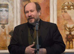 Lietuvos tautodailininkų sąjungos vadovas dailininkas Jonas Rudzinskas   Lietuvostautodaile.lt nuotr.
