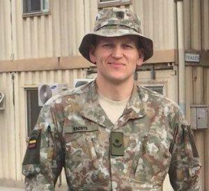 Majoras Mangirdas Vaznys Kabule | asmeninė nuotr.
