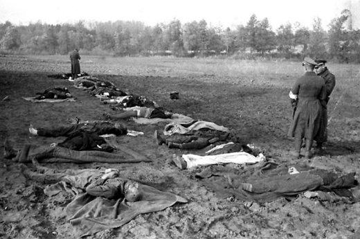 Nemirkiemio (vok. Nemmersdorf, dabar Majakovskoje) civilių gyventojų masinės žudynės, įvykdytos sovietų karių Rytprūsiuose, įgijo tarptautinį atgarsį | Archyvinė nuotr.