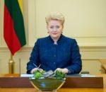 D. Grybauskaitė | R. Dačkaus nuotr.