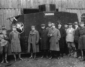 1919 m. Lietuvos valstybė visiškai galėjo pasikliauti tik savo kariais savanoriais | Archyvinė nuotr.