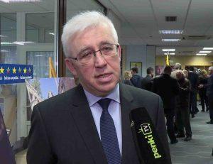 Ukrainos ambasadoriumi Lietuvoje Volodymyras Jacenkivskis | penki.lt nuotr.
