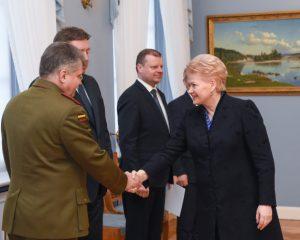 Valstybės gynimo taryboje nuspręsta didinti Lietuvos gynybinius pajėgumus | lrp.lt nuotr.