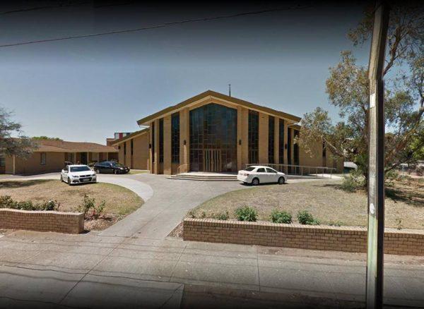 Šv. Margaritos bažnyčia Kraidono priemiestyje (Croydon), Adelaidėje (Adelaide), Australijoje. Architektas Vaclovas Navakas, 1968 m. | Google.lt/maps nuotr.