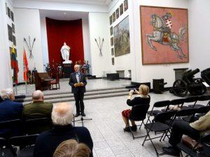 Pranešėjas Zigmas Tamakauskas | A. Grigaitienės ir R. Kazakevičiuaus nuotr.