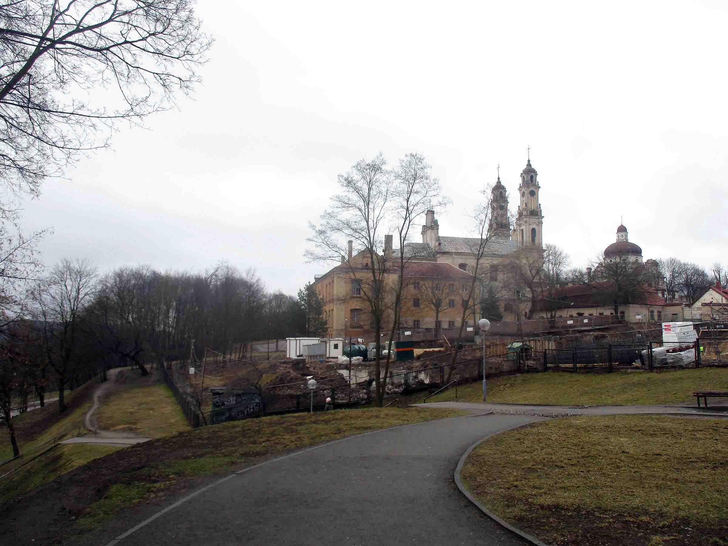 Vilniaus misionierių vienuolynas ir Viešpaties Dangun Žengimo bažnyčia | VKPK, G. Oržikausko nuotr.