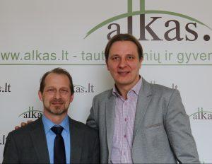 Ryšardas Burdas ir Gediminas Sakalauskas | Alkas.lt nuotr.