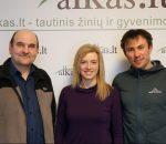 Gerimantas Statinis, Vilma Tūbutytė ir Andrius Smirnovas | Alkas.lt nuotr.