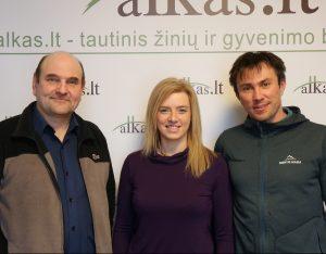 Gerimantas Statinis, Vilma Tūbutytė ir Andrius Smirnovas   Alkas.lt nuotr.