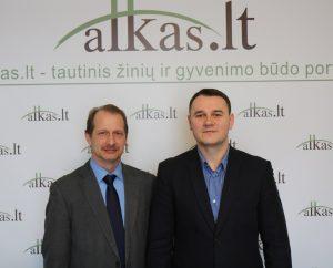 Ryšardas Burda ir Juozas Berenta | Alkas.lt nuotr.