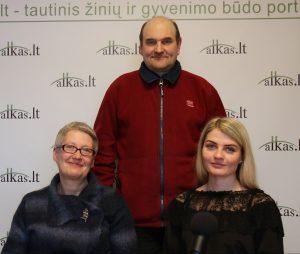 Ilona Šedienė, Gerimantas Statinis ir Božena Šeško | Alkas.lt nuotr.