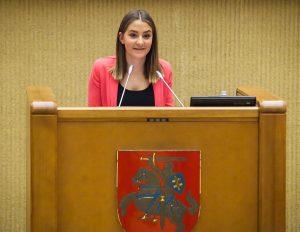 Rūta Liutkutė | lrs.lt, O. Posaškovos nuotr.