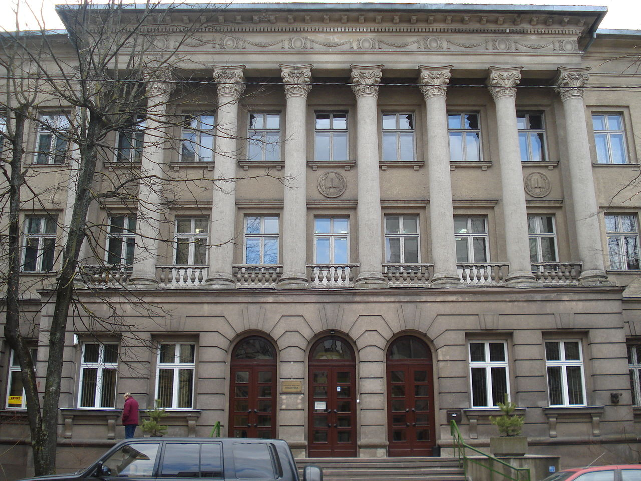 Lietuvos medicinos biblioteka   Wikipedia.org nuotr.