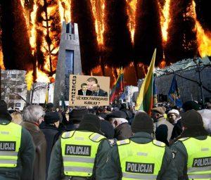 Vilniuje rengiamas Maidanas | Alkas.lt nuotr.