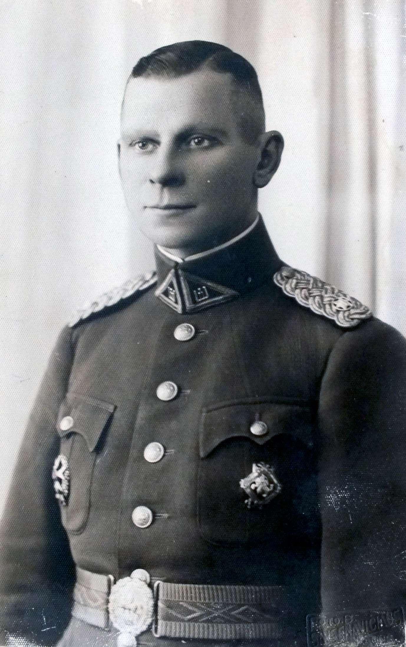 Majoras Adolfas Žygas, 1932 m. | V. Žygas asmeninė nuotr.
