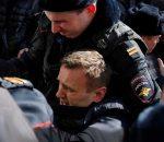 Sulaikytas Rusijos opozicijos lyderis Aleksejus Navalnas | Youtube.com stop kadras