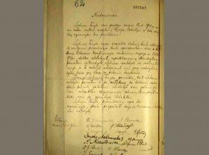 Vasario 16-osios Lietuvos Nepriklausomybės Akto originalas | Alkas.lt nuotr.