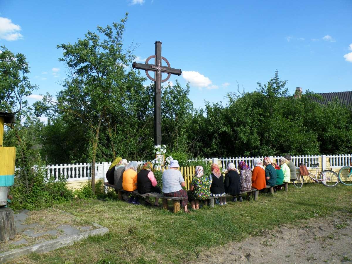 Birželinės pamaldos Rimdžiūnuose (dabartinė Baltarusija). 2011.06.16.   Ž. Šaknio nuotr.
