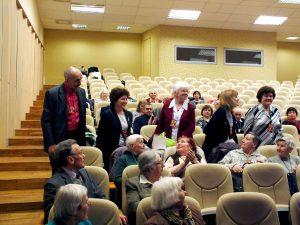 Estijos atstovai (stovi iš kairės): Ahti Jundas, Inna Rubanovitš, Elga Lannajarv, Tiina Paju ir Olga Muraškina | P. Šimkavičiaus nuotr.