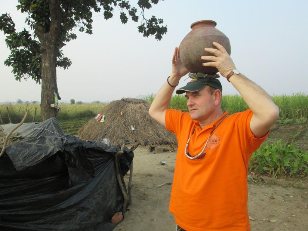 Išbandymas induisų kaime   Asmeninė nuotr.