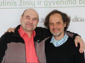 Gerimantas Statinis ir Vytautas Bukauskas | Alkas.lt nuotr.