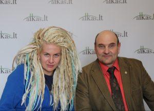 Eglė Gerulaitytė ir Gerimantas Statinis | Alkas.lt nuotr.
