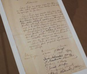 Nepriklausomybės Akto pristatymas M.Mažvydo bibliotekoje | Alkas.lt, A. Sartanavičiaus nuotr.