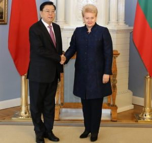 Džang Dedziangas, Dalia Grybauskaitė   Alkas.lt, A. Sartanavičiaus nuotr.