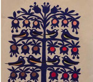 Julijos Daniliauskienės popieriaus karpinys | Asmeninė nuosavybė