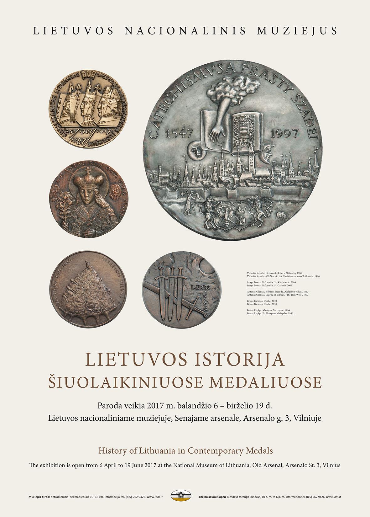 Medaliu paroda_plakatas_lnm.lt