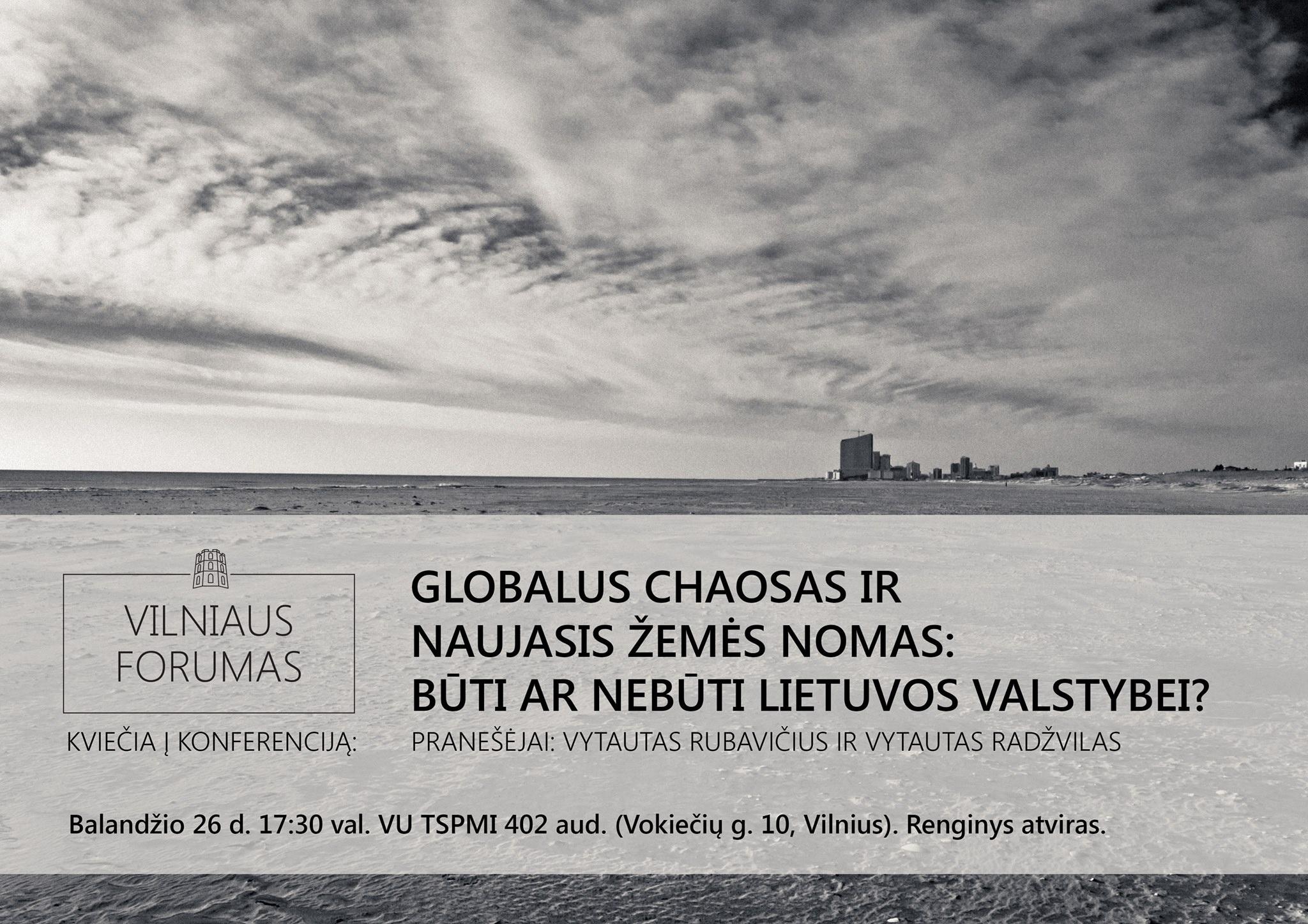 Vilniaus forumo konferencija
