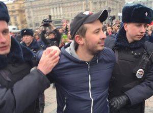 Rusijoje vėl vyko protesto akcijos | twitter.com/varlamov nuotr.