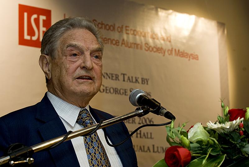 Džordžas Sorošas (George Soros) | Wikipedia.org nuotr.