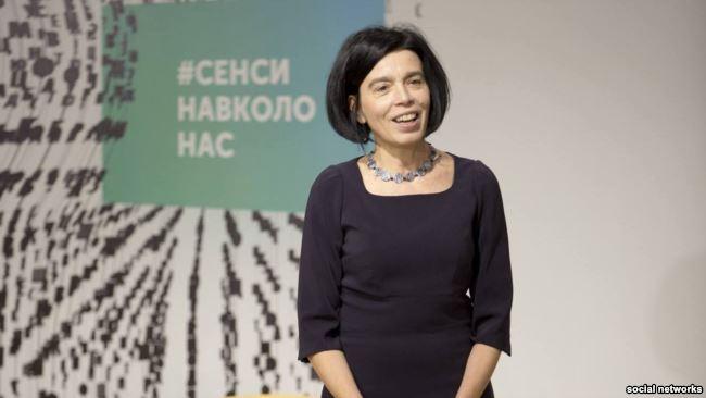 Olha Hnatiuk | Kijevo Petro Mohylos vardo verslo mokyklos puslapio Feisbuke nuotr.