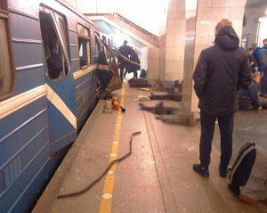 Sankt Peterburge įvykdytas teroristinis išpuolis | Soc. tinklų nuotr.