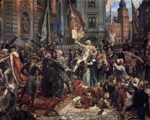 Gegužės 3 d. Konstitucijos priėmimas | Wikipedia.org, J. Mateikos pav.