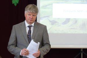 Aplinkos ministras K.Navickas Buivydziuose_facebook.com