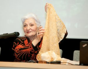 Armėnijos Istorijos ir archeologijos instituto vyriausioji mokslo darbuotoja dr. Arusiak Saakian | LNKC nuotr.