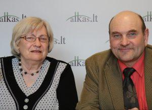 Birutė Ilgūnienė ir Gerimantas Statinis | Alkas.lt nuotr.