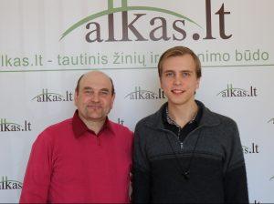 Gerimantas Statinis ir Kasparas Ašmonaitis | Alkas.lt nuotr.