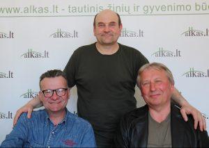 Sigitas Kryževičius, Gerimantas Statinis ir Linas Senkus | Alkas.lt nuotr.