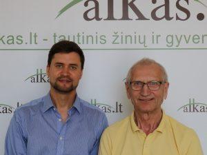 Tadas Langaitis ir Juozas Zykus | alkas.lt nuotr.